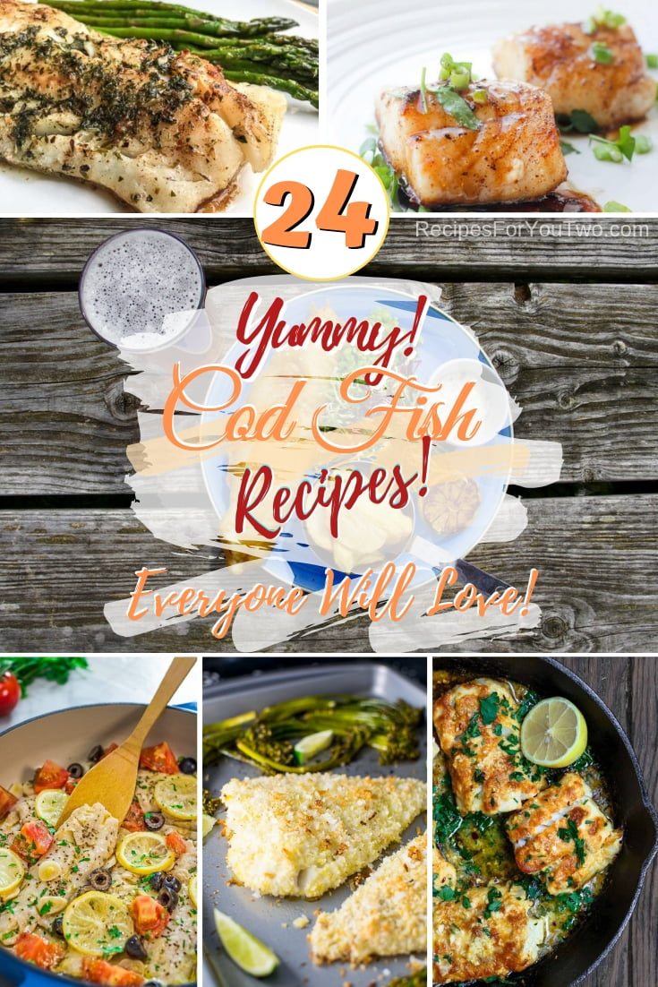 Enjoy new ways to prepare cod fish that everyone will love. Great recipes! #fish #cod #dinner #recipe