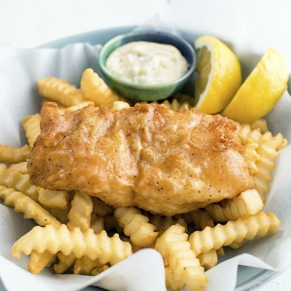 Beer Battered Cod #cod #fish #dinner #recipe