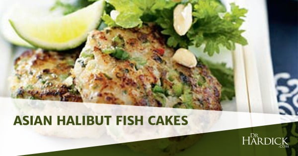 Asian Halibut Fish Cakes #fish #fishcake #dinner #recipe