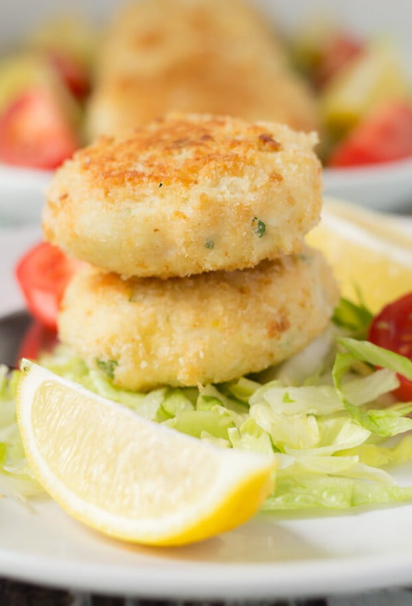 Quick Healthy Fish Cakes #fish #fishcake #dinner #recipe