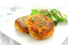 Thai Sweet Potato Fish Cakes Recipe #fish #fishcake #dinner #recipe