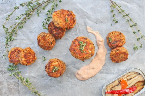 Mini Sardine Fish Cakes #fish #fishcake #dinner #recipe