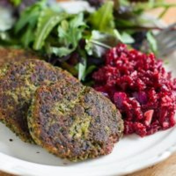 AIP Fish Cakes with Beetroot & Horseradish #fish #fishcake #dinner #recipe