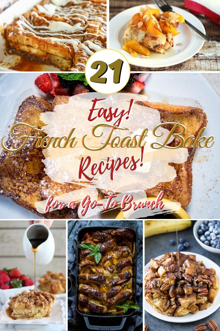 Want a new easy go-to recipe for breakfast or brunch? Try these wonderful French toast bakes! #recipe #frenchtoast #bake #brunch #breakfast