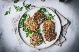 Broccoli and Sweet Potato Fritters – Gluten Free & Dairy Free #fritters #recipe #dinner