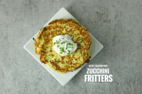 Keto Zucchini Fritters #fritters #recipe #dinner