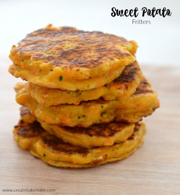 Sweet Potato Fritters #fritters #recipe #dinner