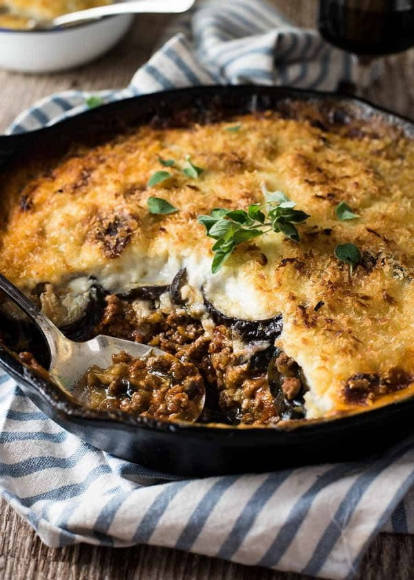 Moussaka #groundbeef #dinner #recipe #beef