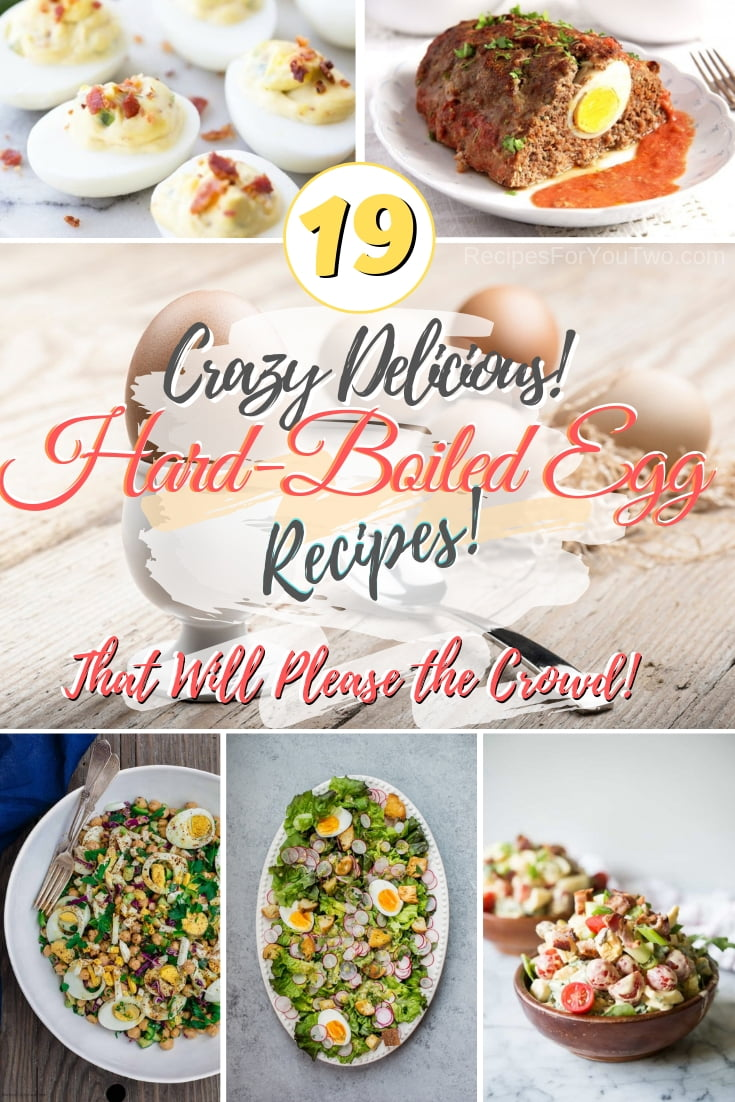 Make the best and most delicious dishes with hard-boiled eggs. These recipes are real crowd pleasers! #eggs #hardboiled #dinner #lunch #recipe