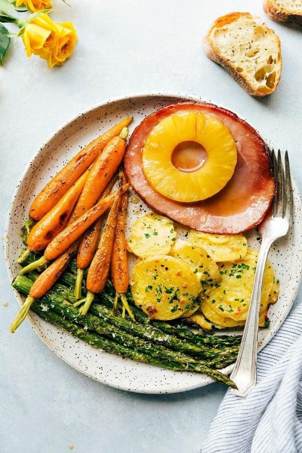 One Hour Easter Dinner #easter #easterdinner #dinner #recipe #healthy