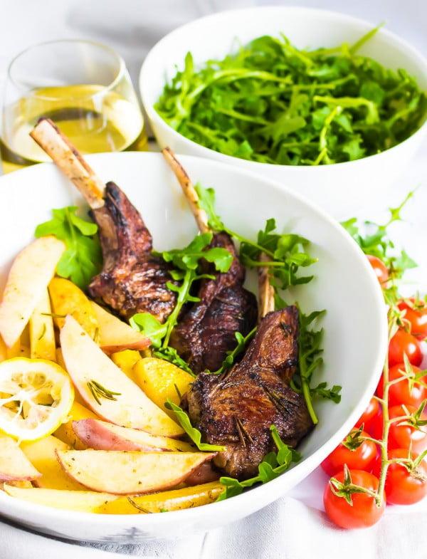 HONEY BALSAMIC LAMB CHOPS #easter #easterdinner #dinner #recipe #healthy