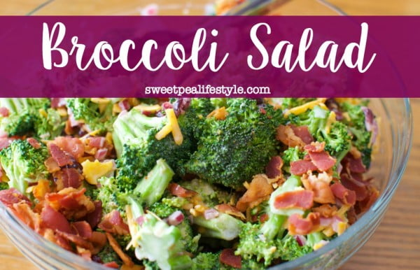 Broccoli Salad #easter #easterdinner #dinner #recipe #healthy