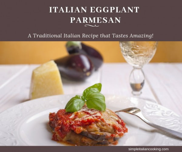 Easy Italian Eggplant Parmesan Recipe Without Frying! #italian #dinner #recipe