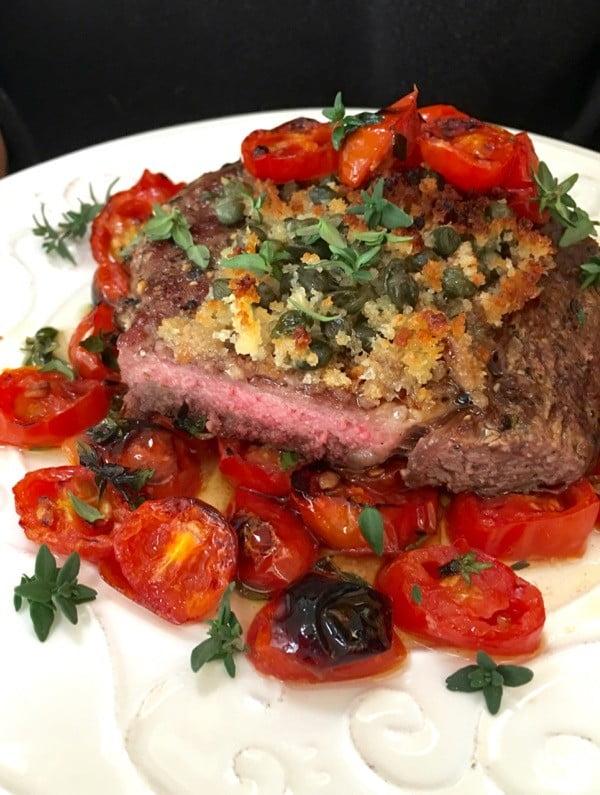 Italian Steak Recipe -Palermo Style • CiaoFlorentina #italian #dinner #recipe