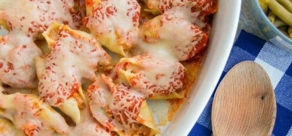 Italian Stuffed Shells • The Diary of a Real Housewife #italian #dinner #recipe