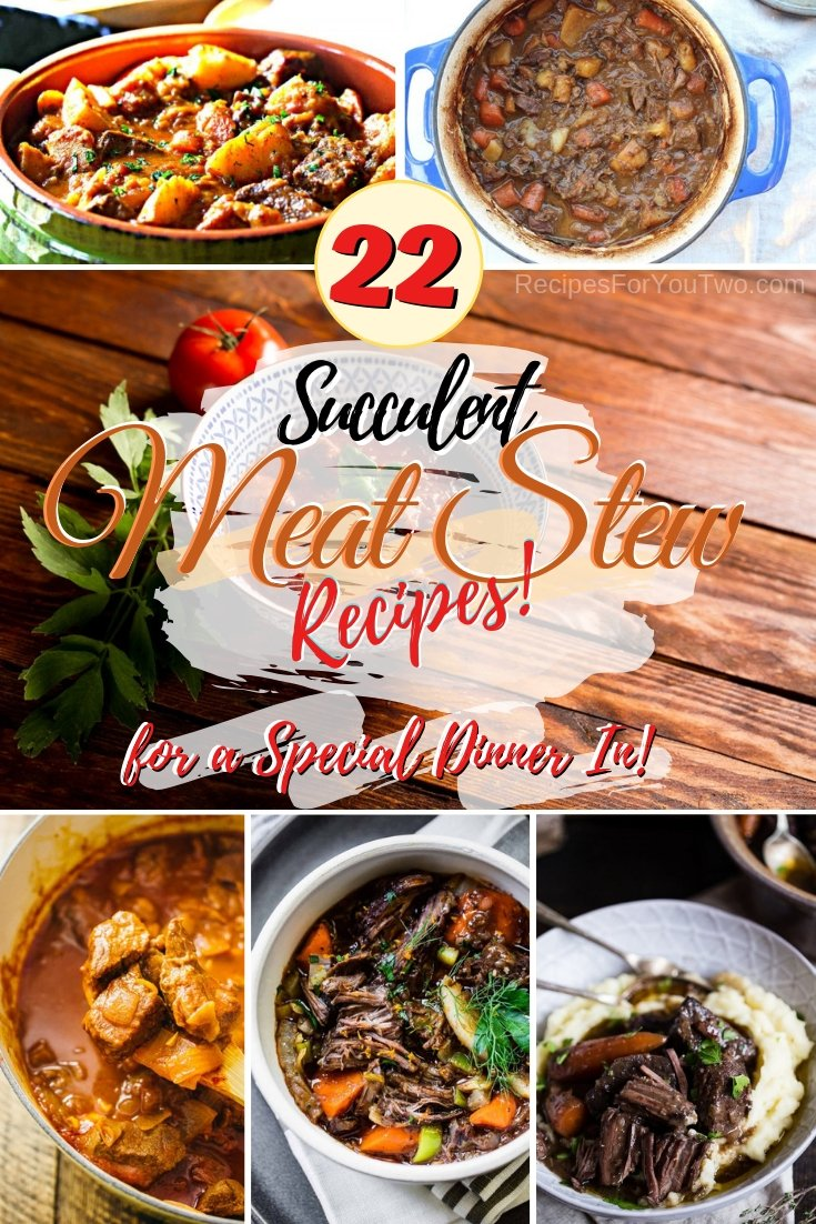 Treat yourself and your family with a succulent delicious meat stew. Great recipes! #meat #stew #meatstew #recipe #dinner