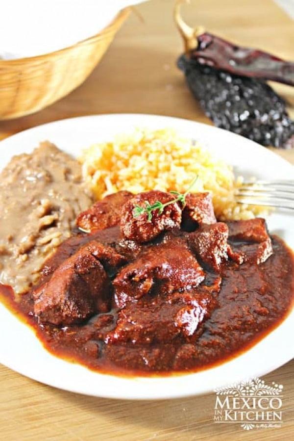 Pork Stew Nuevo León Style / Asado de Puerco #meatstew #meat #stew #dinner #recipe