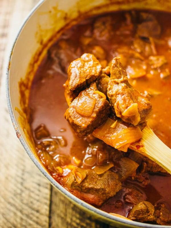 Hungarian beef goulash #meatstew #meat #stew #dinner #recipe
