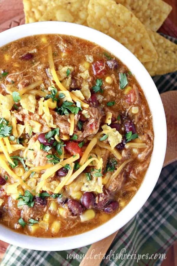 Slow Cooker Southwest Pork Stew   Let's Dish Recipes #meatstew #meat #stew #dinner #recipe