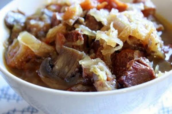 Bigos (Polish Hunter's Stew) #meatstew #meat #stew #dinner #recipe