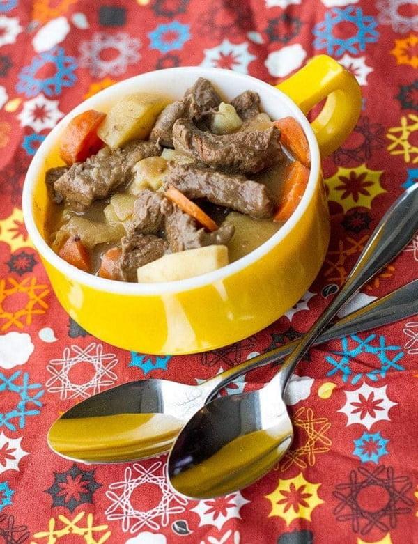 Venison Stew from Scratch #meatstew #meat #stew #dinner #recipe