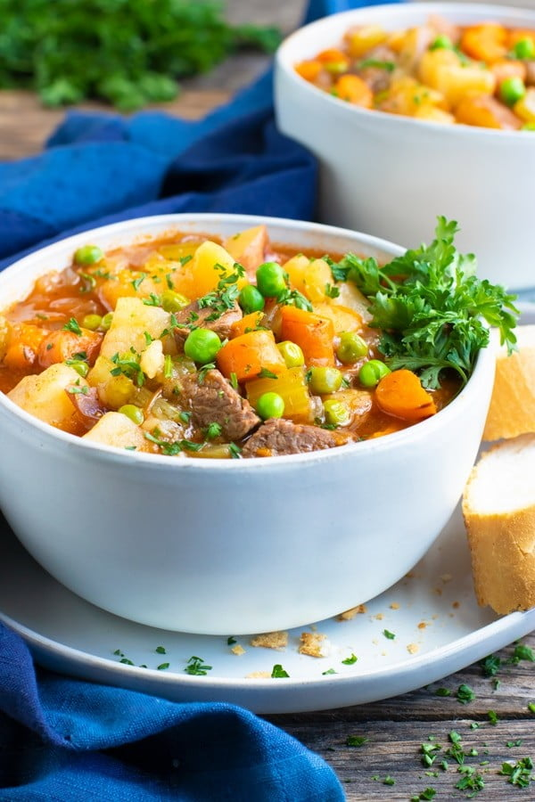 Instant Pot Beef Stew #meatstew #meat #stew #dinner #recipe