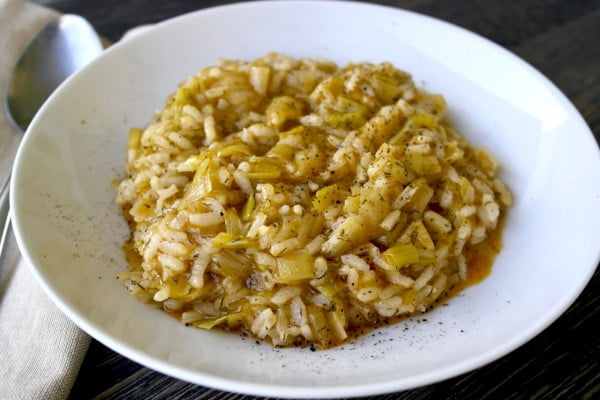 Greek Leeks and Rice – Prasorizo #mediterranean #dinner #recipe