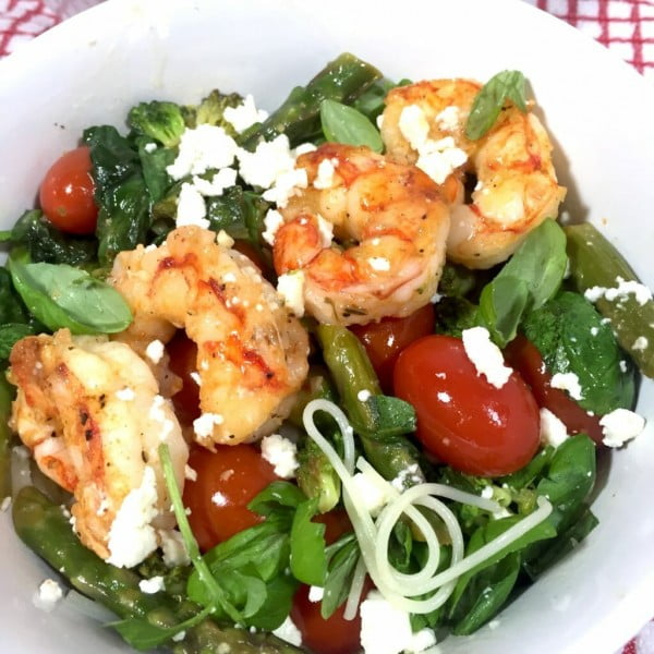 Shrimp Mediterranean #mediterranean #dinner #recipe