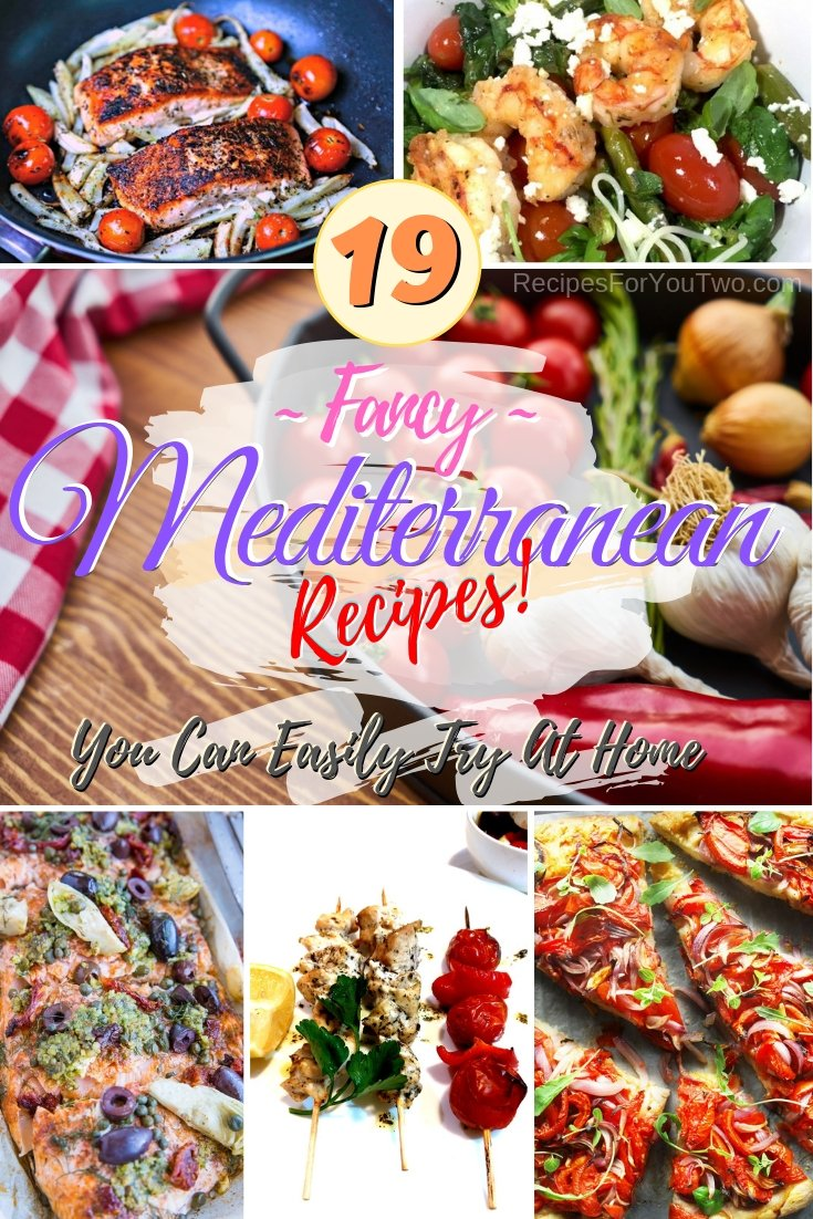 Want to try Mediterranean cuisine in your kitchen? These 20 great recipes will make it easy for you! #recipe #Mediterranean #dinner