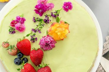 No Bake Avocado Cheesecake #recipe #nobake #dessert #recipe