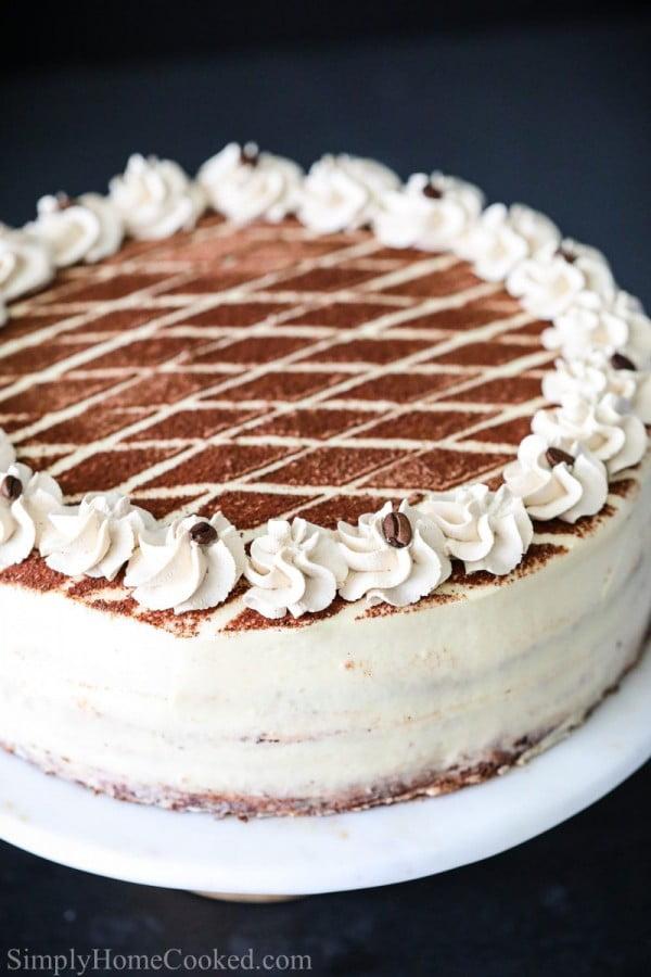Tiramisu Cake Recipe (VIDEO) #tiramisu #recipe #dessert