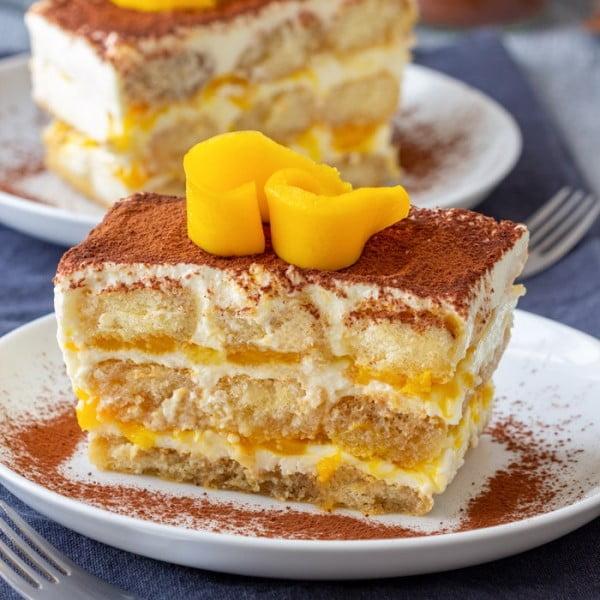 Mango Tiramisu #tiramisu #recipe #dessert
