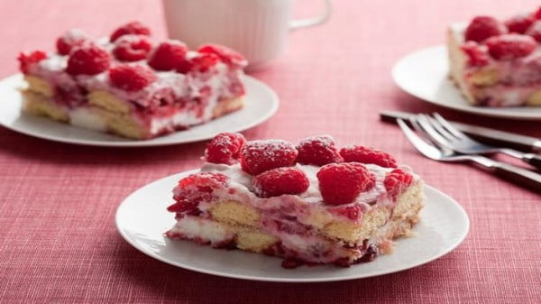 Raspberry Tiramisu #tiramisu #recipe #dessert
