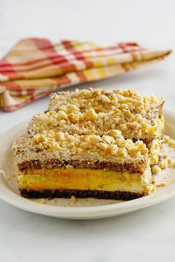Simple Pumpkin Tiramisu #tiramisu #recipe #dessert