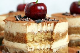 Vegan Tofu Tiramisu #tiramisu #recipe #dessert