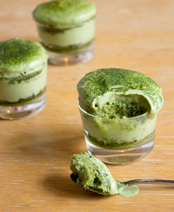 Matchamisu = Matcha (Green Tea) Tiramisu #tiramisu #recipe #dessert