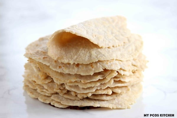Low Carb Almond Flour Keto Tortillas Recipe #tortilla #recipe #mexicanfood #dinner #lunch