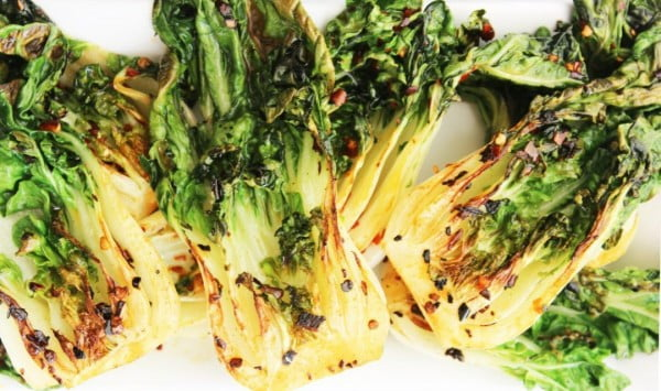 Pak Choi (Bok Choy) with Garlic & Chilli #vegetables #side #dinner #recipe