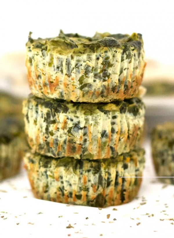 Vegan Quiche Cups #vegetarian #healthy #breakfast #recipe