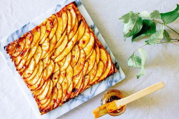 French Apple Tart Recipe #apple #recipe #dessert #snack