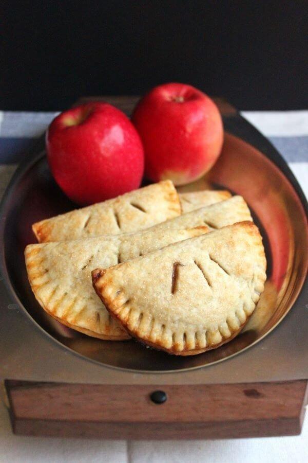 Apple Butter Empanadas (Hand Pies) #apple #recipe #dessert #snack