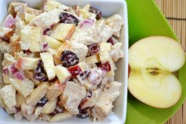 Apple Salad (4 SmartPoints) #apple #recipe #dessert #snack