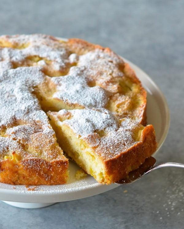 French Apple Cake #apple #recipe #dessert #snack