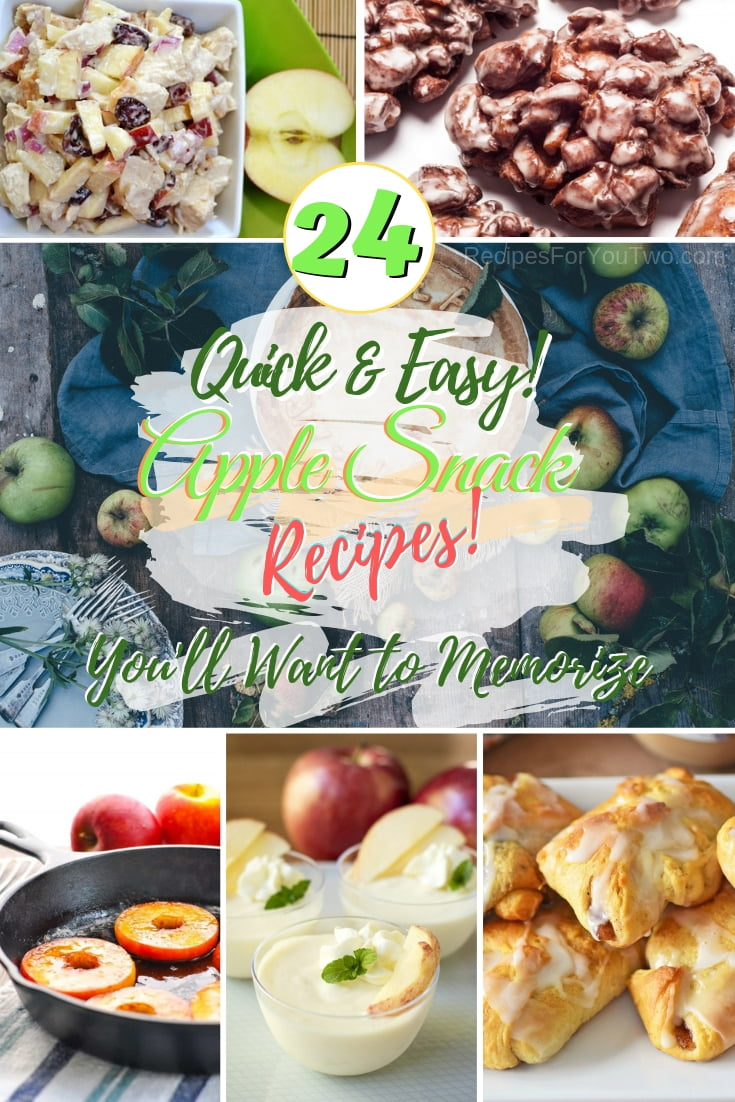 Eat your apples in a more fun and delicious way with these remarkable apple snack and dessert recipes! #apples #snack #dessert #recipe
