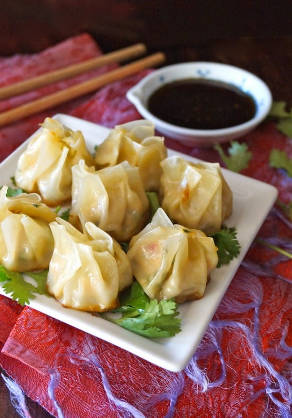Ginger Garlic Chicken Dumplings: Nepalese Momo #dumplings #dinner #recipe