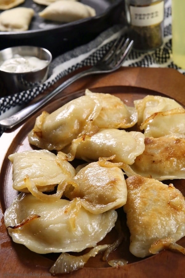 Homemade Polish Pierogies Recipe (Freezer Friendly) #dumplings #dinner #recipe