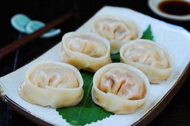 Kimchi Mandu (Kimchi Dumplings) #dumplings #dinner #recipe