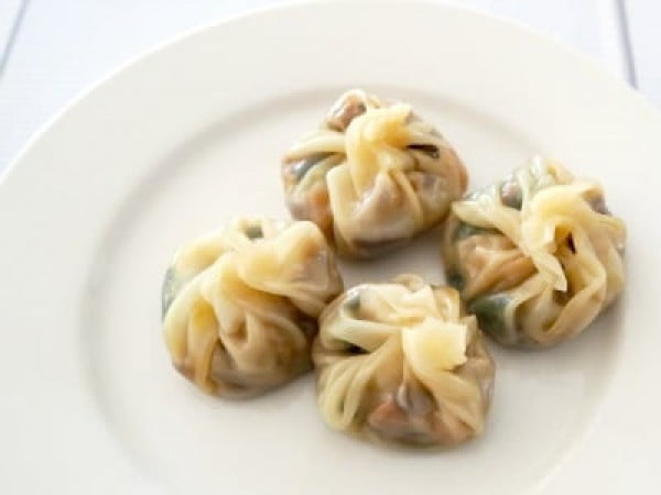Steamed Vegetable Dumplings #dumplings #dinner #recipe
