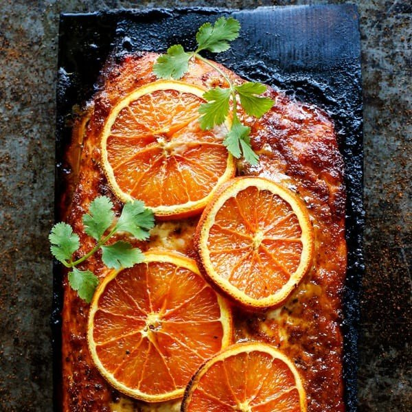 Grilled Chipotle-Orange Salmon • a farmgirl's dabbles #grilled #fish #grill #dinner #recipe