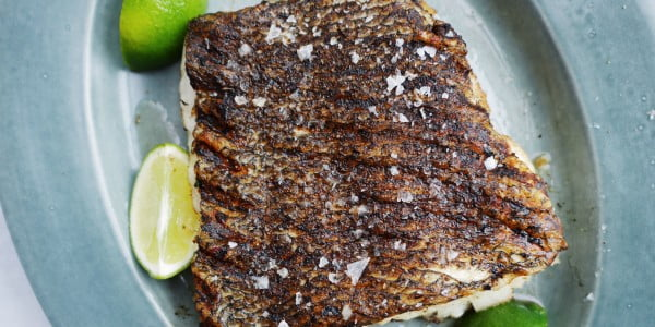 This Is The Only Way To Grill Fish EVER #grilled #fish #grill #dinner #recipe